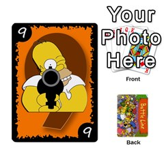 Simpsons Battle Line (deck 1) By Heath Doerr   Playing Cards 54 Designs   Bctyaoxvk2uy   Www Artscow Com Front - Spade4