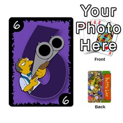 Simpsons Battle Line (deck 1) By Heath Doerr   Playing Cards 54 Designs   Bctyaoxvk2uy   Www Artscow Com Front - Heart9