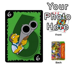Simpsons Battle Line (deck 1) By Heath Doerr   Playing Cards 54 Designs   Bctyaoxvk2uy   Www Artscow Com Front - Heart10