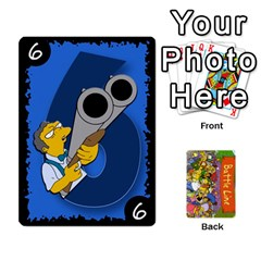 King Simpsons Battle Line (deck 1) By Heath Doerr   Playing Cards 54 Designs   Bctyaoxvk2uy   Www Artscow Com Front - HeartK