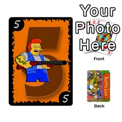 Ace Simpsons Battle Line (deck 1) By Heath Doerr   Playing Cards 54 Designs   Bctyaoxvk2uy   Www Artscow Com Front - HeartA