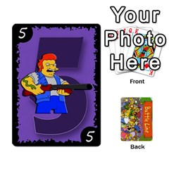Simpsons Battle Line (deck 1) By Heath Doerr   Playing Cards 54 Designs   Bctyaoxvk2uy   Www Artscow Com Front - Diamond2