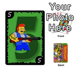 Simpsons Battle Line (deck 1) By Heath Doerr   Playing Cards 54 Designs   Bctyaoxvk2uy   Www Artscow Com Front - Diamond4