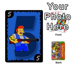 Simpsons Battle Line (deck 1) By Heath Doerr   Playing Cards 54 Designs   Bctyaoxvk2uy   Www Artscow Com Front - Diamond5