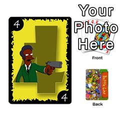 Queen Simpsons Battle Line (deck 1) By Heath Doerr   Playing Cards 54 Designs   Bctyaoxvk2uy   Www Artscow Com Front - DiamondQ