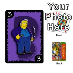 King Simpsons Battle Line (deck 1) By Heath Doerr   Playing Cards 54 Designs   Bctyaoxvk2uy   Www Artscow Com Front - DiamondK