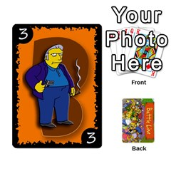 Ace Simpsons Battle Line (deck 1) By Heath Doerr   Playing Cards 54 Designs   Bctyaoxvk2uy   Www Artscow Com Front - DiamondA