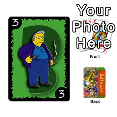 Simpsons Battle Line (deck 1) By Heath Doerr   Playing Cards 54 Designs   Bctyaoxvk2uy   Www Artscow Com Front - Club2