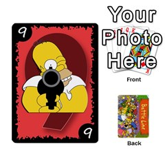 Simpsons Battle Line (deck 1) By Heath Doerr   Playing Cards 54 Designs   Bctyaoxvk2uy   Www Artscow Com Front - Spade6