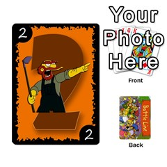 Simpsons Battle Line (deck 1) By Heath Doerr   Playing Cards 54 Designs   Bctyaoxvk2uy   Www Artscow Com Front - Club6