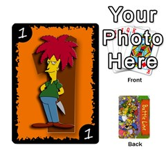 Queen Simpsons Battle Line (deck 1) By Heath Doerr   Playing Cards 54 Designs   Bctyaoxvk2uy   Www Artscow Com Front - ClubQ