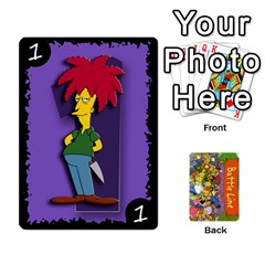 King Simpsons Battle Line (deck 1) By Heath Doerr   Playing Cards 54 Designs   Bctyaoxvk2uy   Www Artscow Com Front - ClubK