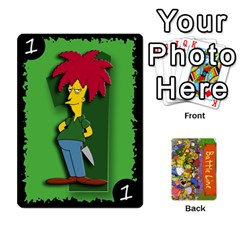 Ace Simpsons Battle Line (deck 1) By Heath Doerr   Playing Cards 54 Designs   Bctyaoxvk2uy   Www Artscow Com Front - ClubA