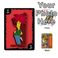 Simpsons Battle Line (deck 1) By Heath Doerr   Playing Cards 54 Designs   Bctyaoxvk2uy   Www Artscow Com Front - Joker1