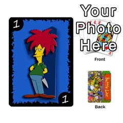 Simpsons Battle Line (deck 1) By Heath Doerr   Playing Cards 54 Designs   Bctyaoxvk2uy   Www Artscow Com Front - Joker2