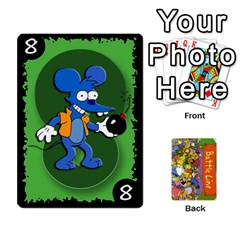Simpsons Battle Line (deck 1) By Heath Doerr   Playing Cards 54 Designs   Bctyaoxvk2uy   Www Artscow Com Front - Spade8