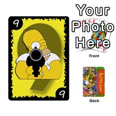 Simpsons Battle Line (deck 1) By Heath Doerr   Playing Cards 54 Designs   Bctyaoxvk2uy   Www Artscow Com Front - Spade9