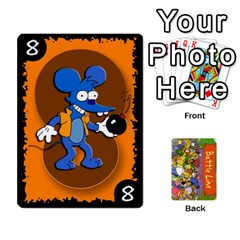 Simpsons Battle Line (deck 1) By Heath Doerr   Playing Cards 54 Designs   Bctyaoxvk2uy   Www Artscow Com Front - Spade10