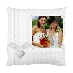 Wedding By Joely   Standard Cushion Case (two Sides)   X1umcawy543q   Www Artscow Com Front