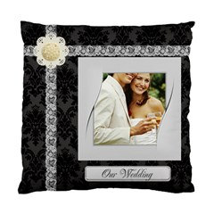 Wedding By Joely   Standard Cushion Case (two Sides)   8wh1knf3v7qi   Www Artscow Com Front
