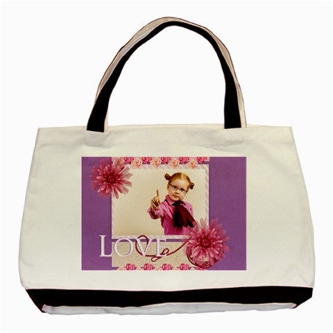 Love By Joely   Basic Tote Bag   Vrnmk0kp351r   Www Artscow Com Front