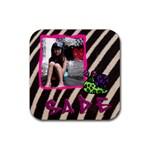 mhelancoaster2 - Rubber Coaster (Square)