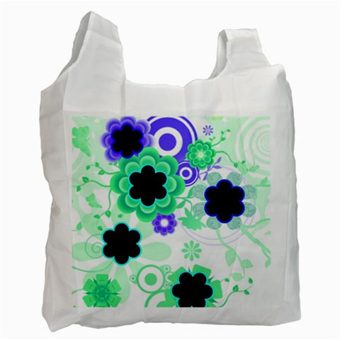 Spring Flowers Recycle Bag By Birkie   Recycle Bag (one Side)   7scldle53iau   Www Artscow Com Front