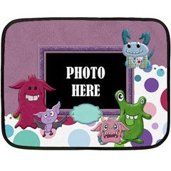 Monster Party 2 Sided Blanket 1 By Lisa Minor   Double Sided Fleece Blanket (mini)   Qqrkiri3lln1   Www Artscow Com 35 x27 Blanket Front