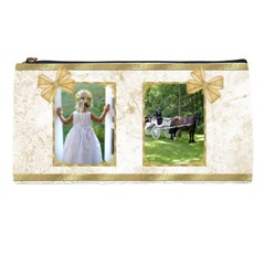 Golden Pencil Case By Deborah   Pencil Case   P17kuxgqgtut   Www Artscow Com Front