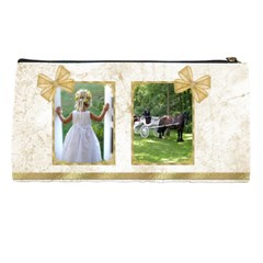 Golden Pencil Case By Deborah   Pencil Case   P17kuxgqgtut   Www Artscow Com Back