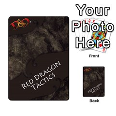 Dda   Level 10   Red Dragon By Regino Sanchez   Multi Purpose Cards (rectangle)   Slry77m96wt7   Www Artscow Com Back 7