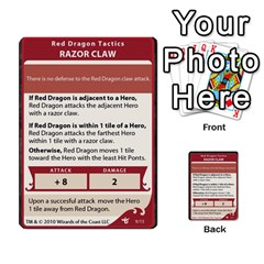 Dda   Level 10   Red Dragon By Regino Sanchez   Multi Purpose Cards (rectangle)   Slry77m96wt7   Www Artscow Com Front 9