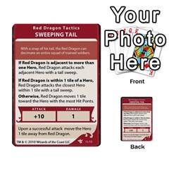 Dda   Level 10   Red Dragon By Regino Sanchez   Multi Purpose Cards (rectangle)   Slry77m96wt7   Www Artscow Com Front 11