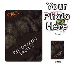 Dda   Level 10   Red Dragon By Regino Sanchez   Multi Purpose Cards (rectangle)   Slry77m96wt7   Www Artscow Com Back 4