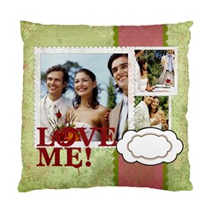 Love By Joely   Standard Cushion Case (two Sides)   43pi9rugkaqr   Www Artscow Com Front