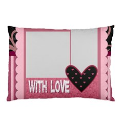 Love By Mac Book   Pillow Case (two Sides)   5u1tpbr05o9d   Www Artscow Com Back