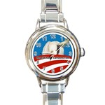 Ladies Hope n  Change Limited Edition Watch - Round Italian Charm Watch