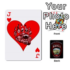 Jack Ketchikan Bear Paw Cards By Jeff Whitesides   Playing Cards 54 Designs   L6az46js4qsx   Www Artscow Com Front - HeartJ