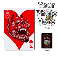 King Ketchikan Bear Paw Cards By Jeff Whitesides   Playing Cards 54 Designs   L6az46js4qsx   Www Artscow Com Front - HeartK