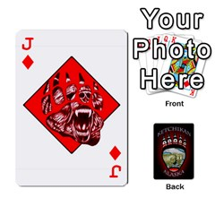 Jack Ketchikan Bear Paw Cards By Jeff Whitesides   Playing Cards 54 Designs   L6az46js4qsx   Www Artscow Com Front - DiamondJ