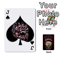 Jack Ketchikan Bear Paw Cards By Jeff Whitesides   Playing Cards 54 Designs   L6az46js4qsx   Www Artscow Com Front - SpadeJ