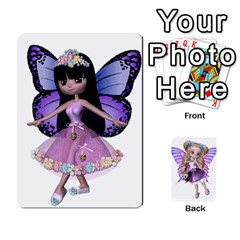 King Fairy Cards By Helen   Playing Cards 54 Designs   Naaz720wbr4y   Www Artscow Com Front - SpadeK
