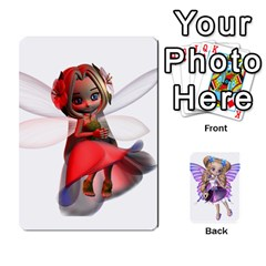 Fairy Cards By Helen   Playing Cards 54 Designs   Naaz720wbr4y   Www Artscow Com Front - Diamond3
