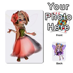 Fairy Cards By Helen   Playing Cards 54 Designs   Naaz720wbr4y   Www Artscow Com Front - Diamond4