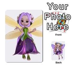 Fairy Cards By Helen   Playing Cards 54 Designs   Naaz720wbr4y   Www Artscow Com Front - Diamond10