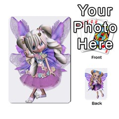 Fairy Cards By Helen   Playing Cards 54 Designs   Naaz720wbr4y   Www Artscow Com Front - Spade6