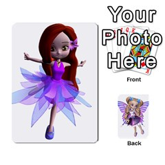 Fairy Cards By Helen   Playing Cards 54 Designs   Naaz720wbr4y   Www Artscow Com Front - Club8