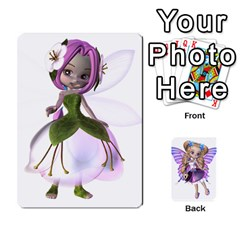 Fairy Cards By Helen   Playing Cards 54 Designs   Naaz720wbr4y   Www Artscow Com Front - Club9
