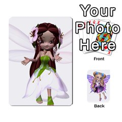 Queen Fairy Cards By Helen   Playing Cards 54 Designs   Naaz720wbr4y   Www Artscow Com Front - ClubQ