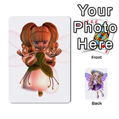 Fairy Cards By Helen   Playing Cards 54 Designs   Naaz720wbr4y   Www Artscow Com Front - Spade7